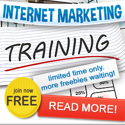 Internet Marketing Training Plus Many Free Bonus Website Traffic Resources