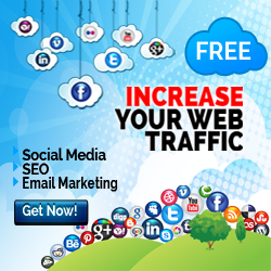 Increase Your Website Traffic! SEO. Social 